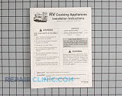 Manuals, Care Guides & Literature - Part # 1072670 Mfg Part # 74009865