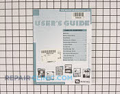 Manuals, Care Guides & Literature - Part # 666538 Mfg Part # 61004711