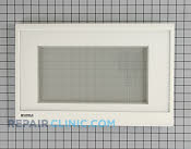 Microwave Oven Door - Part # 770606 Mfg Part # WB55T10037