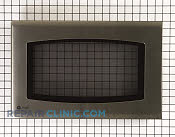 Microwave Oven Door - Part # 1087580 Mfg Part # WB55T10139