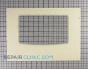 Oven Door Glass - Part # 1062328 Mfg Part # 316406402