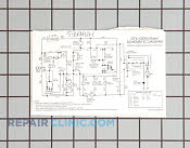 Wiring diagram,schematic - Part # 1063211 Mfg Part # 5304441861