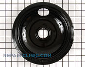 8 Inch Burner Drip Bowl - Part # 258110 Mfg Part # WB32K5042