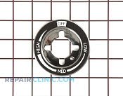 Knob Bezel - Part # 1189233 Mfg Part # 74011691