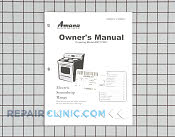 Manuals, Care Guides & Literature - Part # 1002558 Mfg Part # 31985801
