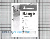 Manuals, Care Guides & Literature - Part # 1074582 Mfg Part # 8113P407-60