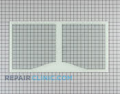 Glass Crisper Cover - Part # 1092612 Mfg Part # WR32X10465