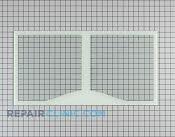 Glass Crisper Cover - Part # 1092612 Mfg Part # WR32X10465