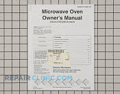 Manuals, Care Guides & Literature - Part # 1068685 Mfg Part # 53001218
