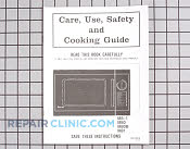 Manuals, Care Guides & Literature - Part # 352394 Mfg Part # 06010315