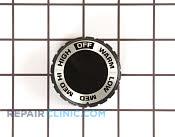 Control Knob - Part # 257076 Mfg Part # WB3X5636