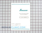 Manuals, Care Guides & Literature - Part # 346245 Mfg Part # 0314284