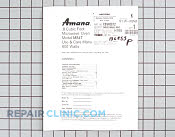 Owner's Manual - Part # 126855 Mfg Part # C8940812
