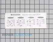 Decals and Labels - Part # 446449 Mfg Part # 216485600