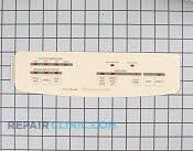 Control  Panel - Part # 747510 Mfg Part # 9743368