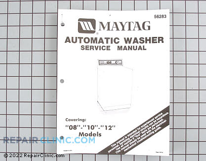 Repair Manual 16000401        Main Product View