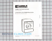 Manuals, Care Guides & Literature - Part # 936419 Mfg Part # 131801600