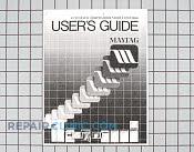Owner's Manual - Part # 1247302 Mfg Part # Y912758