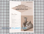 Manuals, Care Guides & Literature - Part # 696479 Mfg Part # 71003218