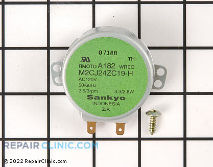 Turntable Motor 4313108 Main Product View