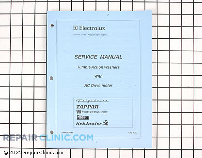 Repair Manual 5995369211 Main Product View