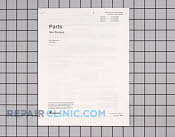 Manuals, Care Guides & Literature - Part # 218000 Mfg Part # RA231001E
