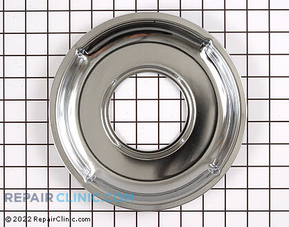 Burner Drip Pan WB31K5037 Main Product View