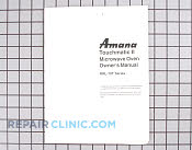 Manuals, Care Guides & Literature - Part # 929084 Mfg Part # A1036002