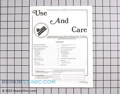 Manuals, Care Guides & Literature 8112P092-60 Main Product View