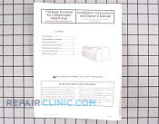 Manuals, Care Guides & Literature - Part # 391682 Mfg Part # 11113301