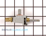 Gas Burner & Control Valve - Part # 707265 Mfg Part # 7502P081-60