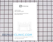 Manuals, Care Guides & Literature - Part # 901660 Mfg Part # 58001176
