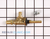 Gas Burner & Control Valve - Part # 494937 Mfg Part # 316031800