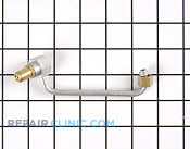 Gas Tube or Connector - Part # 348406 Mfg Part # 04100758