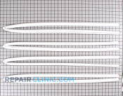 Refrigerator or Freezer Door Gasket - Part # 2000 Mfg Part # WR24X517