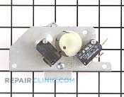 Door Lock Motor and Switch Assembly - Part # 1206869 Mfg Part # W10107830