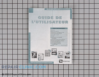 Manuals, Care Guides & Literature 33001935        Main Product View