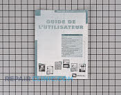 Manuals, Care Guides & Literature - Part # 516804 Mfg Part # 33001935