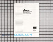 Manuals, Care Guides & Literature - Part # 107661 Mfg Part # A9037704