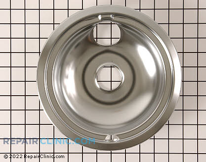 8 Inch Burner Drip Bowl WB31M15 Main Product View