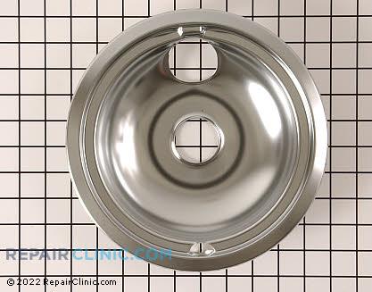 8 Inch Burner Drip Bowl WB31M15 Main Product View