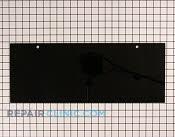 Glass, broiler door - Part # 702213 Mfg Part # 74001982