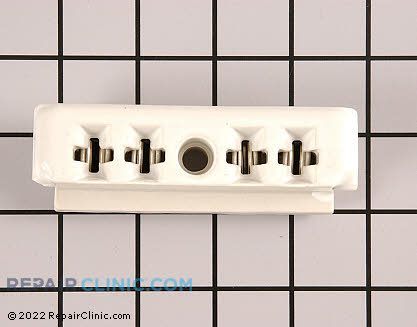 Ceramic Receptacle Block 13020 Main Product View
