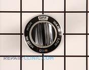 Control Knob - Part # 256850 Mfg Part # WB3X439