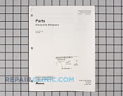 Manuals, Care Guides & Literature - Part # 219148 Mfg Part # RP1300049