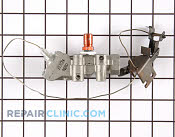 Gas Burner & Control Valve - Part # 2023 Mfg Part # 4334097