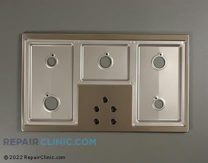 Metal Cooktop 36113S          Main Product View