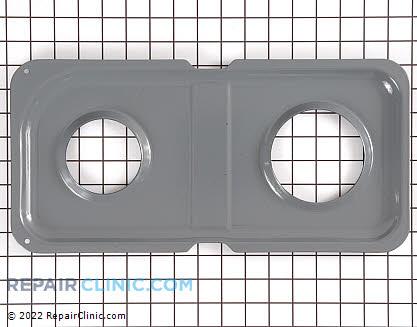 Burner Drip Pan WB34K10013      Main Product View