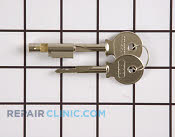 Door Key - Part # 447058 Mfg Part # 216621200