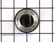 Thermostat Knob - Part # 257291 Mfg Part # WB3X5858